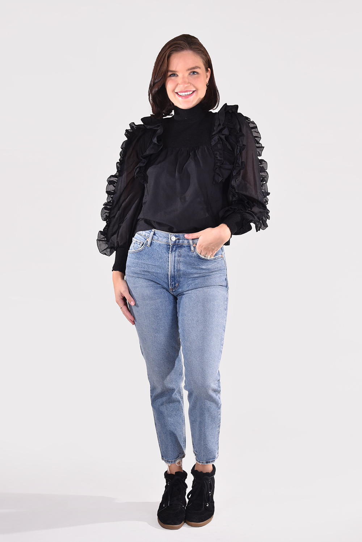 Magali Pascal blouse Laurena T20 zwart