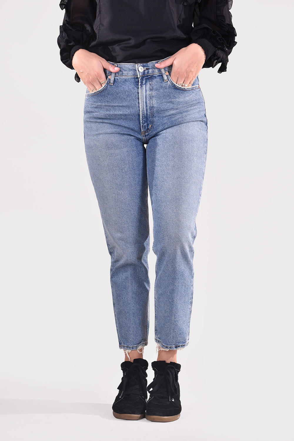 Citizens of Humanity jeans Marlee 1911-3009 blauw