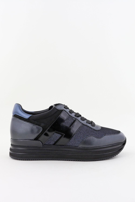 Hogan sneakers Midi Platform HXW4830CB80Q blauw