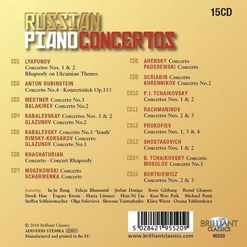 Brilliant Classics Russian Piano Concertos