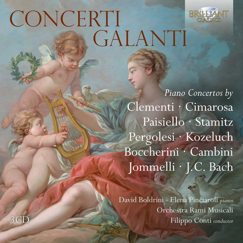 Brilliant Classics CLEMENTI, CIMAROSA, BOCCHERINI: Concerti Galanti