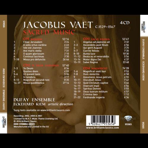 Brilliant Classics Vaet: Sacrale Muziek (4CD)