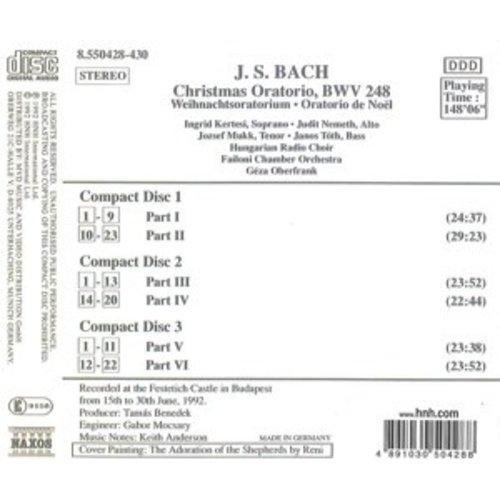 Naxos Bach J. S.: Christmas Oratorio