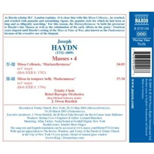 Naxos Haydn: Mariazeller/ Paukenmesse
