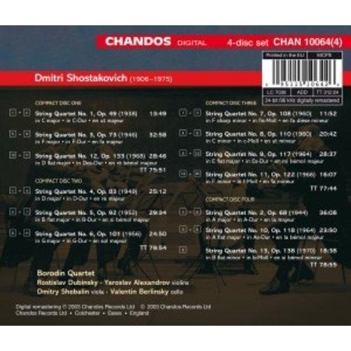 CHANDOS Cplte String Quartets