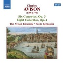Naxos Avison: 6 Concertos, Op. 3 /