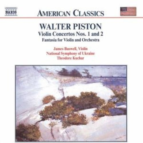 Naxos Piston:violin Concertos No.1&2