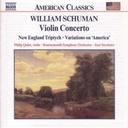 Naxos Schuman William:violin Concert