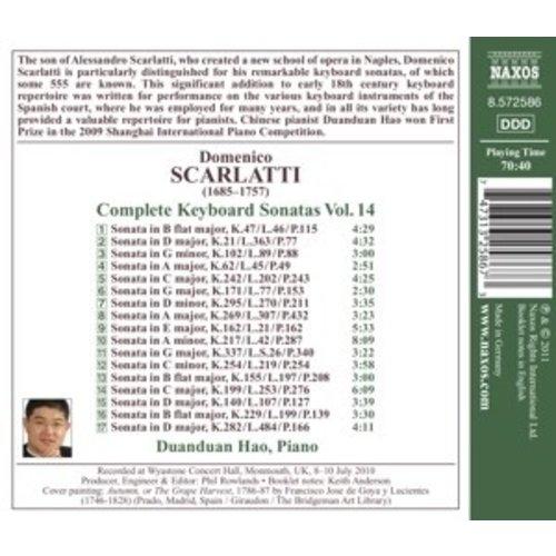 Naxos Scarlatti: Keyboard Sonatas 14