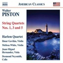 Naxos Piston: String Quartets 1,3,5
