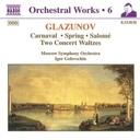 Naxos Glazunov:carnaval.spring.salom