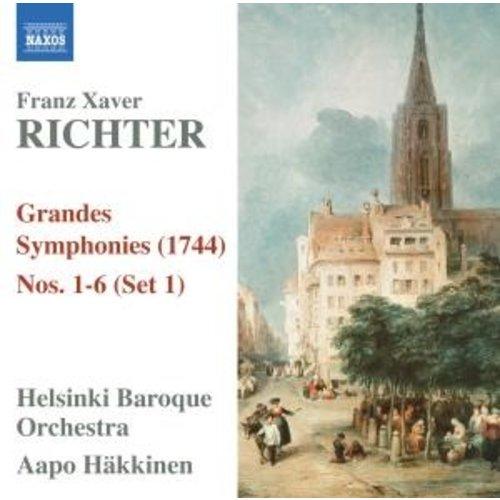 Naxos Richter:grandes Sym. Nos.1-6