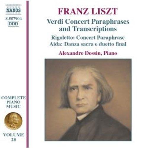 Naxos Liszt: Complete Piano Music 25