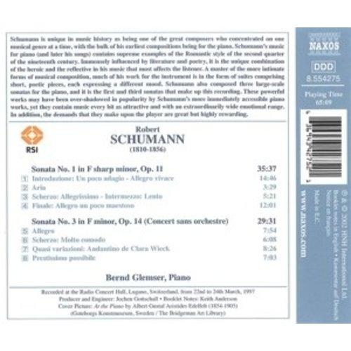 Naxos Schumann: Piano Sonatas No.1&3