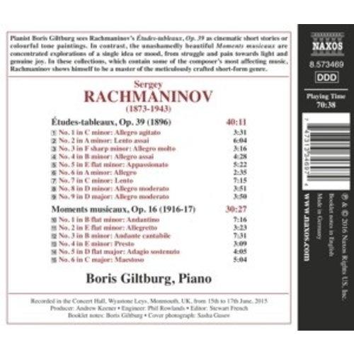 Naxos Etudes-Tableaux, Op. 39