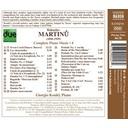 Naxos Martinu: Piano Music Vol. 4