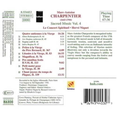 Naxos Charpentier:sacred Music Vol.4