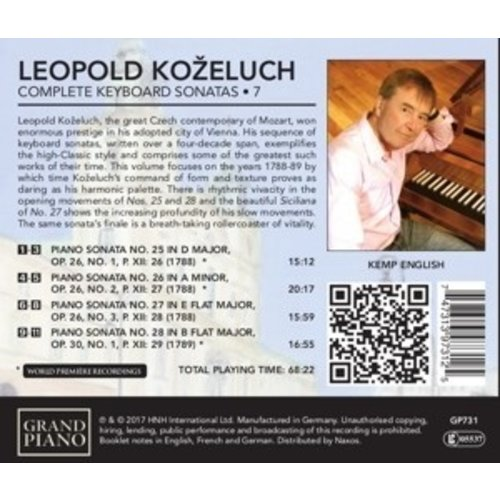 Grand Piano Complete Keyboard Sonatas . 7