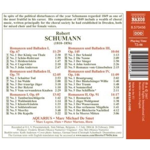 Naxos Schumann, R.: Romances