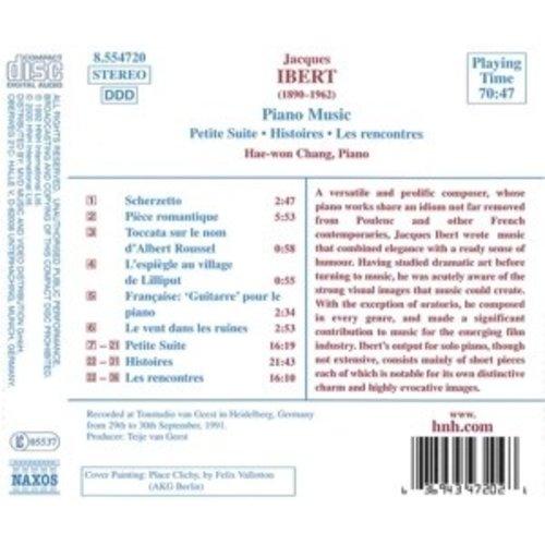Naxos Ibert: Piano Music