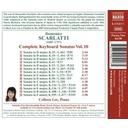 Naxos D.scarlatti: Keyb. Sonatas 10
