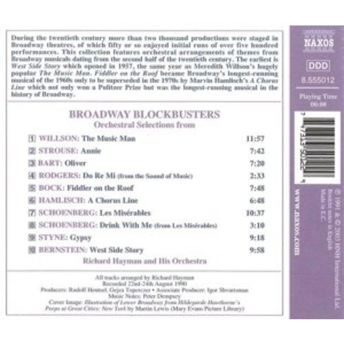 Naxos Broadway Blockbusters