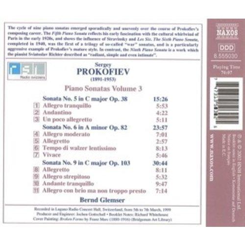 Naxos Prokofiev: Piano Sonatas Vol.3