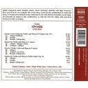 Naxos Spohr:music For Violin & Harp1