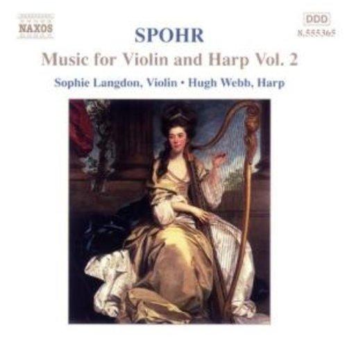 Naxos Spohr:music For Violin & Harp2