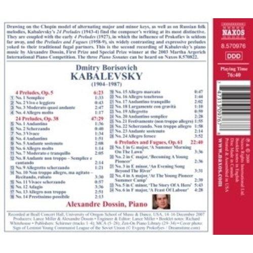 Naxos Kabalevsky: Preludes