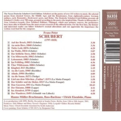 Naxos Schubert: North German Poets