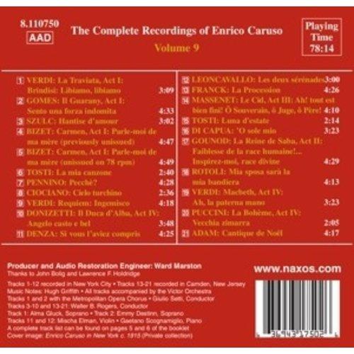 Caruso: Compl.recordings.vol.9