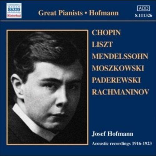 Hofmann: Acoustic Recordings