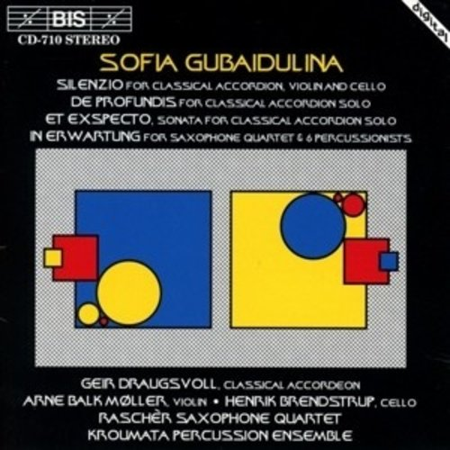 BIS Silenzio, Five Pieces For Classical Accordion