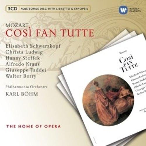Erato/Warner Classics Mozart: Cosi Fan Tutte