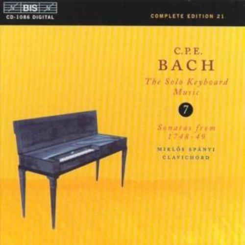 BIS Cpe Bach - Keyb.solo 7