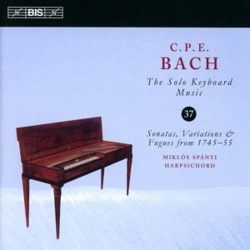 BIS Solo Keyborad Music, Vol. 37