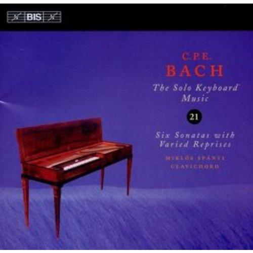 BIS Cpe Bach - Keyb.solo 21