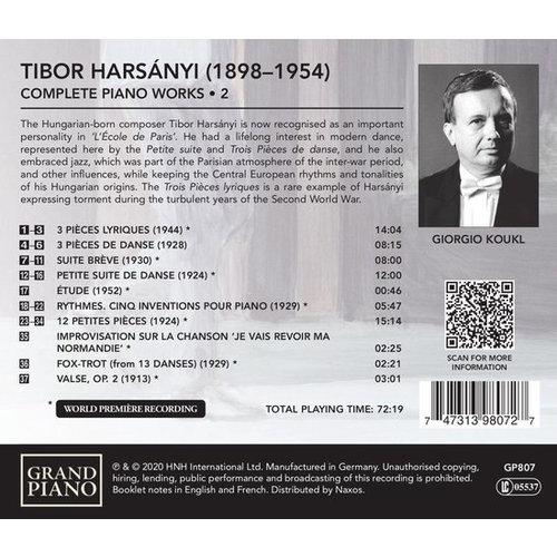 Grand Piano Harsanyi: Tibor Harsanyi: Complete Piano Works - 2
