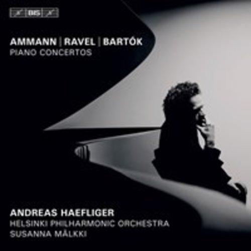 BIS Ammann, Ravel, Bartók: Piano Concertos