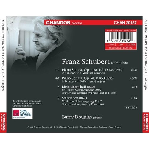 CHANDOS Schubert: Works for Piano Vol. 5