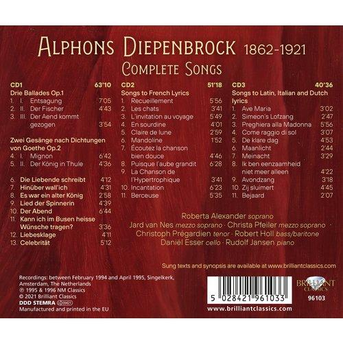 Brilliant Classics Diepenbrock: Complete Songs (3CD)