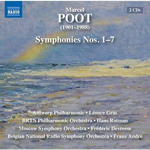 Naxos Marcel Poot: Symphonies Nos. 1–7 (2CD)