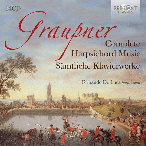Brilliant Classics Graupner: Complete Harpsichord Music (14CD)