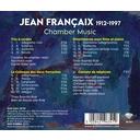 Brilliant Classics FRANCAIX: CHAMBER MUSIC