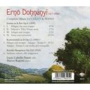 Brilliant Classics DOHNANYI: COMPLETE MUSIC FOR CELLO & PIANO
