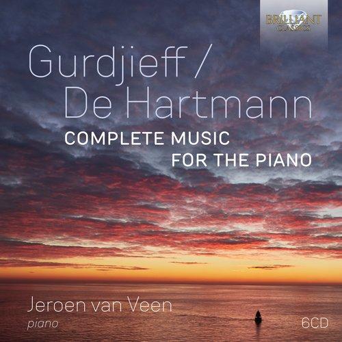 Brilliant Classics GURDJIEFF / DE HARTMANN: COMPLETE MUSIC FOR THE PIANO 6CD (AK2021)