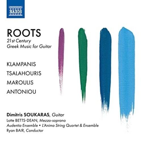 Naxos ROOTS - 21ST CENTURY GREEK MUSIC FOR GUITAR