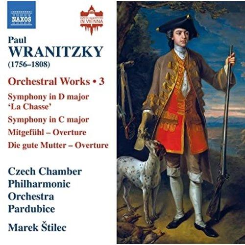 Naxos WRANITZKY: ORCHESTRAL WORKS, VOL. 3