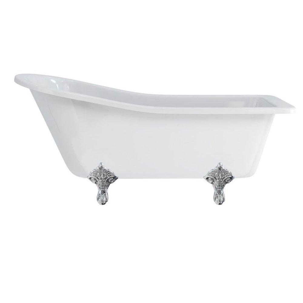 Burlington Freestanding bath Harewood Slipper 1700